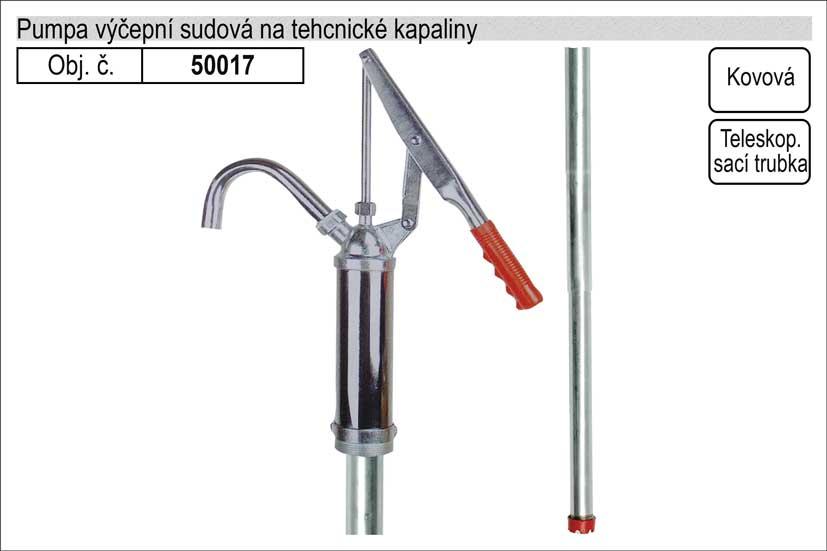 Pumpa výčepní na benzin sudová a technické kapaliny