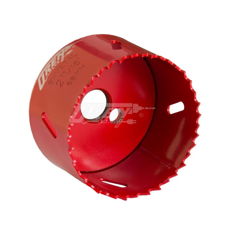 Pilový vrták korunkový bimetalový vyřezávací 75 mm, OREN Nářadí 0.24Kg 5101-75