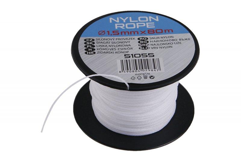 Provázek silonový průměr  1,5mm, délka 80m