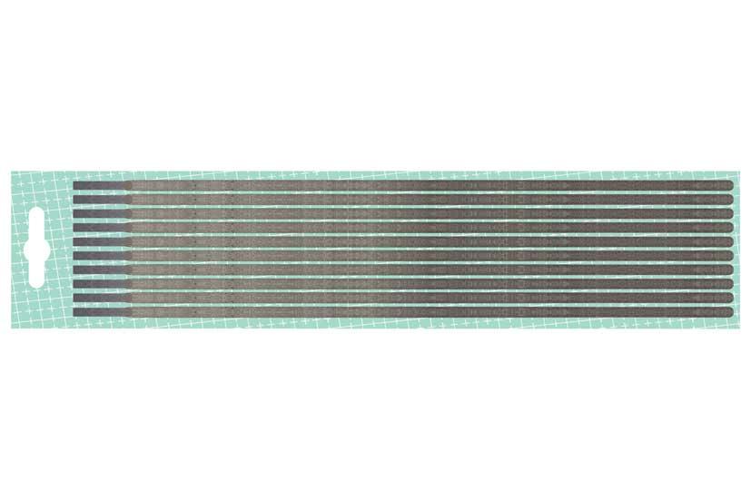 Elektrody  rutilové 2,5mm J421 balení na kartě 10 kusů Nářadí 2Kg 51102