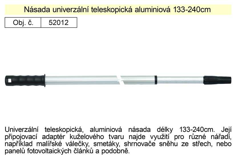 Násada Alu teleskopická, 130-240 cm pro malířské válečky