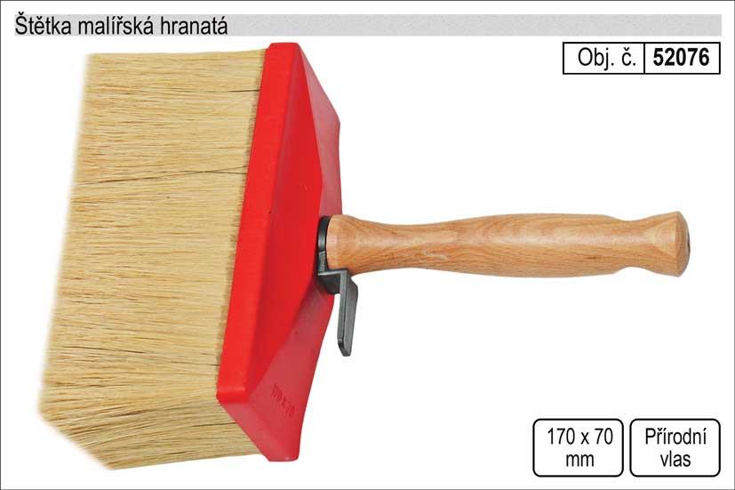 Štětka malířská hranatá 170x70mm Nářadí 0.315Kg 52076