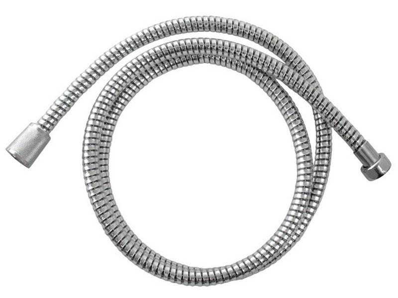 hadice sprchová, černo/stříbrná PVC, 150cm, rotační, PVC, VIKING Nářadí 0.26Kg MA630229