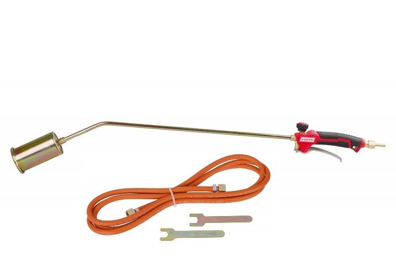 FESTA Plynový hořák na Propan Butan pr.55mm, 850mm, hadice 3m