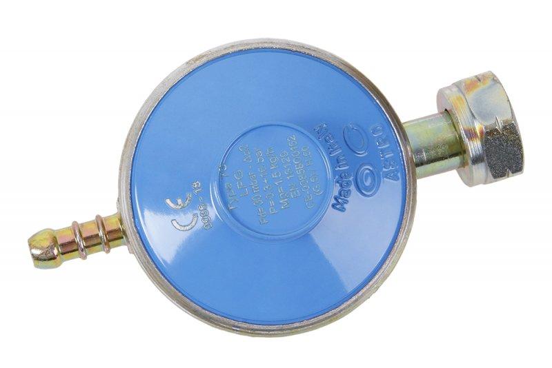 Regulátor tlaku plynu 30 mBar, redukční ventil, vhodný pro plynové hořáky