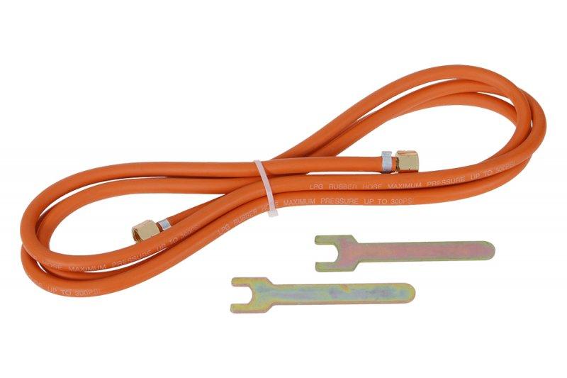 Hadice plynová délka 3m pro spotřebiče připojení přes regulátor tlaku plynu