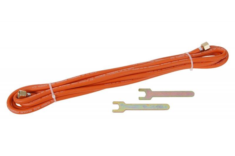FESTA Hadice plynová 10m pro hořáky a spotřebiče, připojení přes regulátor tlaku plynu