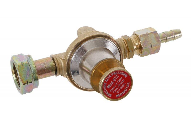 Regulátor tlaku plynu 0,5-4bar, redukční ventil, regulovatelný vhodný pro plynové hořáky