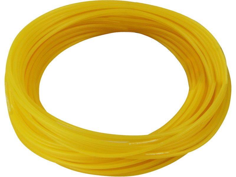 struna do sekačky, kruhový profil, 2,4mm, 15m, kruhový profil, nylon, EXTOL CRAFT