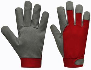 "GEBOL Pracovní rukavice kožené pružné velikost  8"" barva - žlutá"