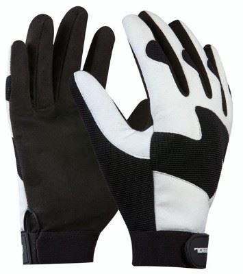 Pracovní rukavice COMMANDER syntetická kůže velikost 9