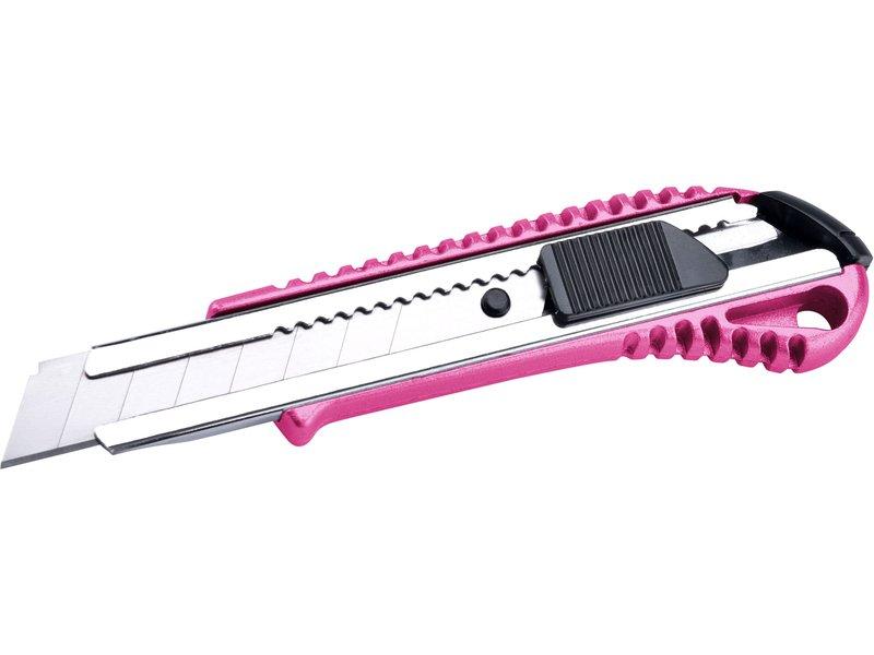 EXTOL LADY nůž ulamovací kovový s kovovou výztuhou, 18mm, Auto-lock  80059