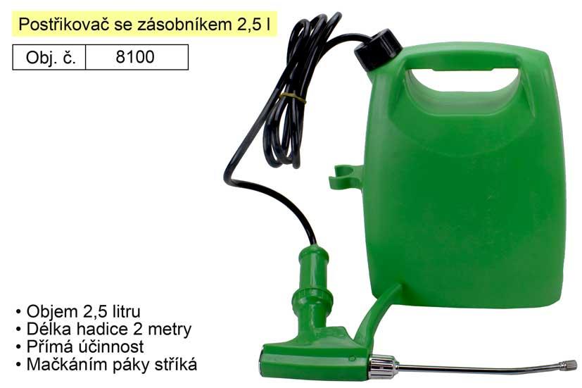 Postřikovač tlakový se zásobníkem 2,5 l Magg