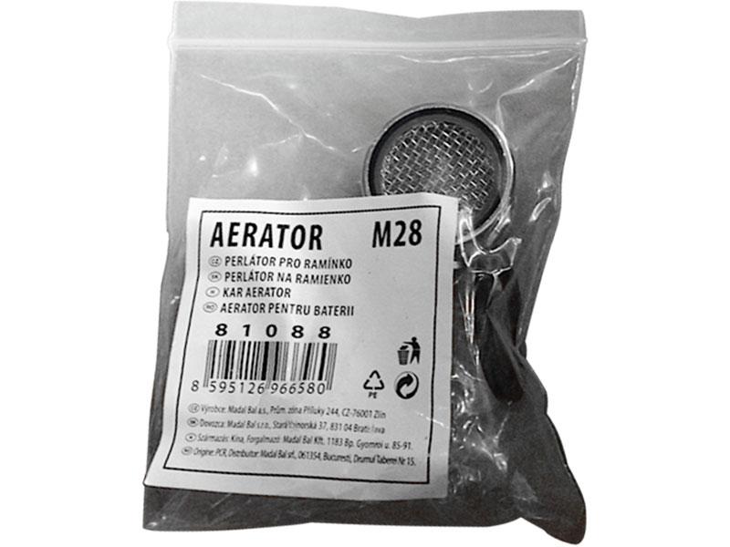 perlátor pro ramínko, M28, pro ramínka s vnitřním závitem, chrom, BALLETTO
