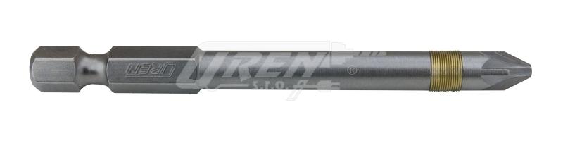 """OREN Bit křížový šroubovák PZ2x75mm 1/4"""" Nářadí 0.575Kg 82075-2"""