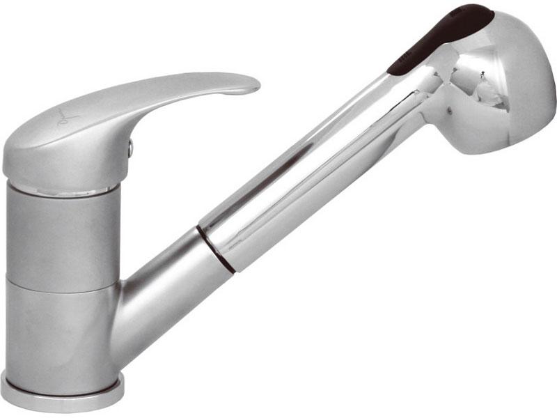 baterie dřezová teleskopická, přep.norm/sprcha, 40mm, SEDAL, mat, OPERA