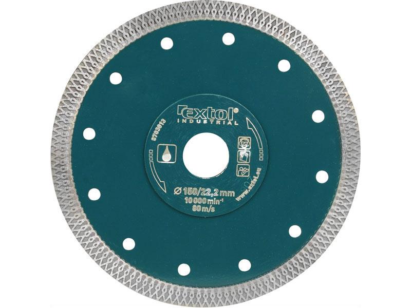 kotouč diamantový řezný turbo Thin Cut, 180x22.2mm, mokré řezání, max. hloubka řezu 45mm,