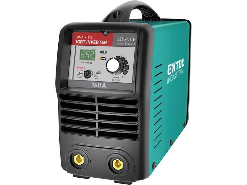Invertor svařovací 160A MMA/TIG Smart Extol Industrial Nářadí 5.4Kg MA8796011