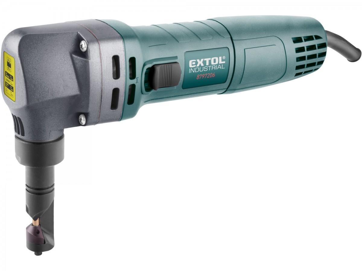 EXTOL INDUSTRIAL Nůžky na plech elektrické prostřihovačky 600W, 8797206