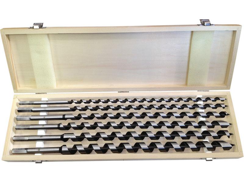 Vrtáky  do dřeva hadovité sada 6 kusů 10-20mm délka 460mm EXTOL PREMIUM (TO-22466) Nářadí-Sklad 2 | 2,5 Kg