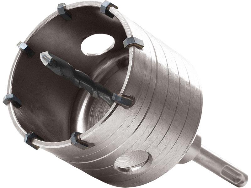vrták SDS PLUS do zdi korunkový, Ř68mm, délka stopky 100mm, EXTOL PREMIUM Nářadí 0.744Kg MA8801954