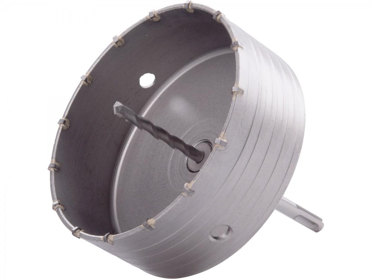 vrták SDS PLUS do zdi korunkový, průměr 150mm, délka stopky 100mm M22, EXTOL PREMIUM Nářadí | 0,917 Kg