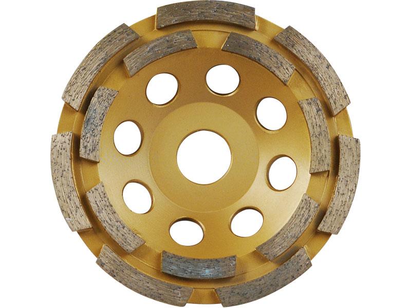 EXTOL PREMIUM Kotouč diamantový brusný dvouřadý 115