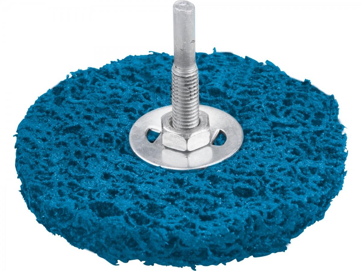 Kotouč brusný nylonový porézní na kov půměr 115mm, na stopce, abrasivo SiC Nářadí 0.132Kg MA8803358