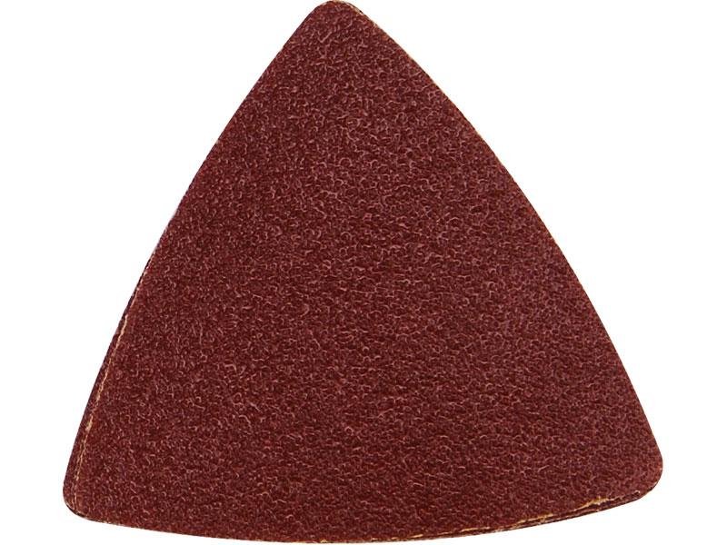 papíry brusné delta - mix zrnitostí, bal. 20ks, 80mm, P40-P120, mix zrnitostí: 5ks-P40, 5