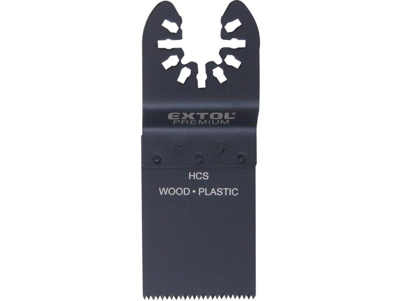 list pilový zanořovací na dřevo 2ks, 34mm, HCS, EXTOL PREMIUM