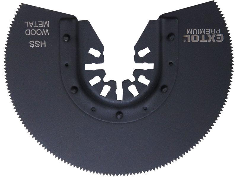 kotouč segmentový pilový na kov, 88mm, HSS, EXTOL PREMIUM
