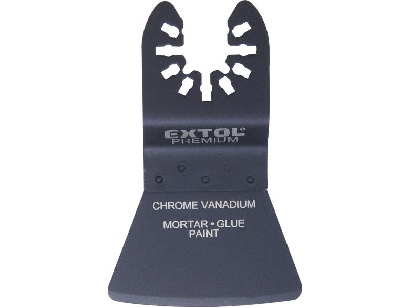 špachtle ohebná zaoblená, 52mm, CrV, EXTOL PREMIUM