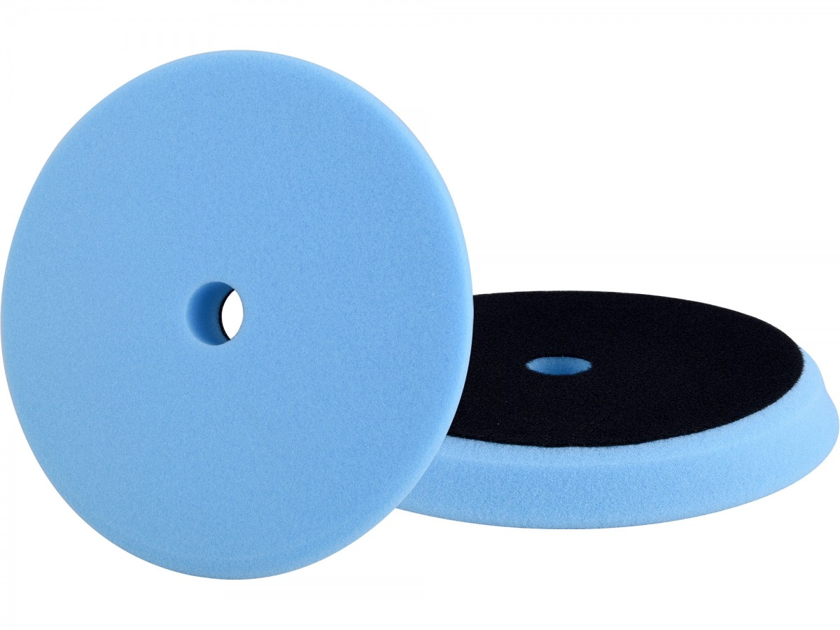 EXTOL PREMIUM kotouč leštící pěnový, orbitální, T60, modrý, O180x25mm, suchý zip O152mm