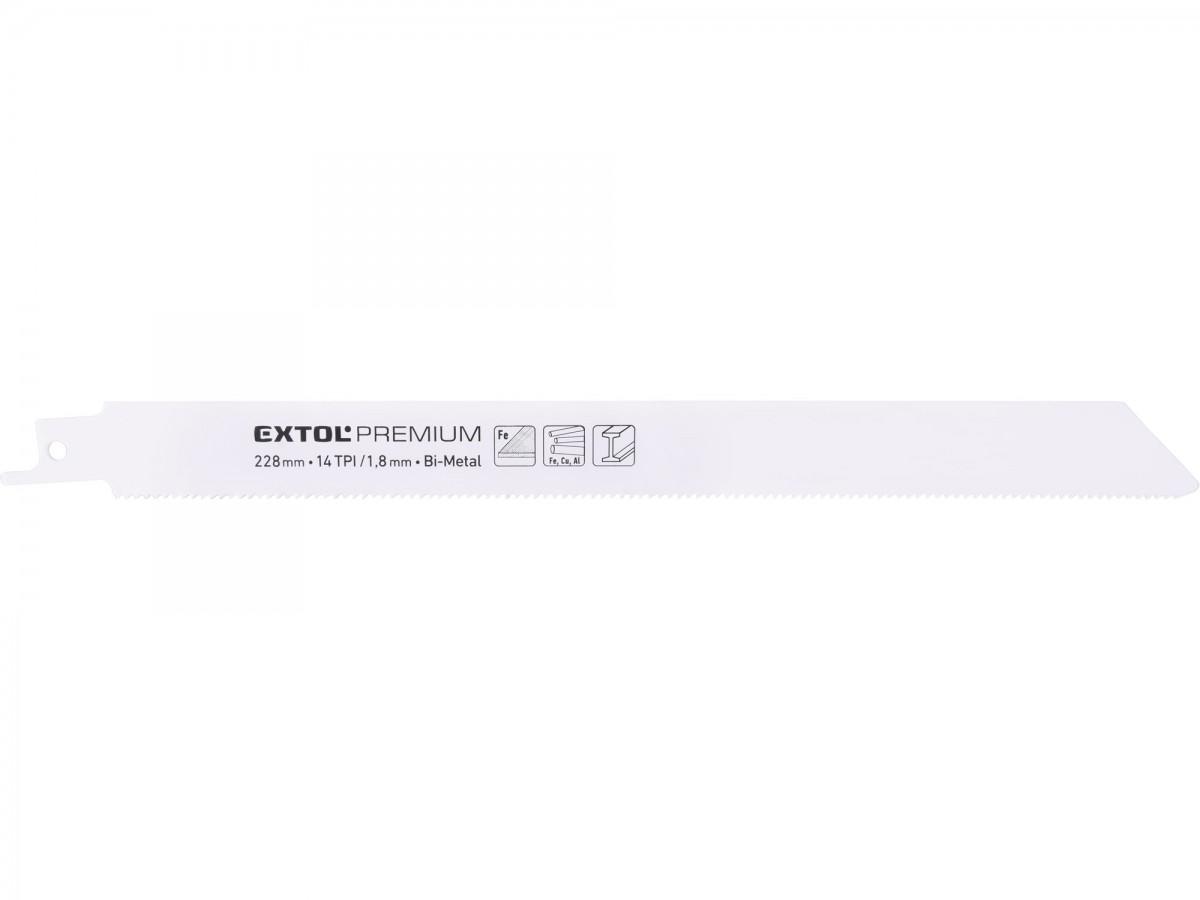 EXTOL PREMIUM plátky do pily ocasky 3ks, 225x19x0,9mm, Bi-metal 8806201 Nářadí 0.1Kg MA8806201