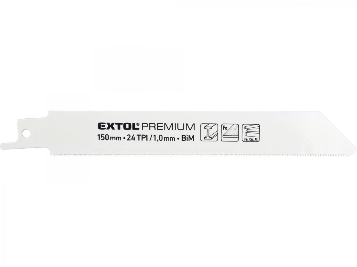 EXTOL PREMIUM plátky do pily ocasky 3ks, 150x19x0,9mm, Bi-metall 8806204 Nářadí 0.065Kg MA8806204