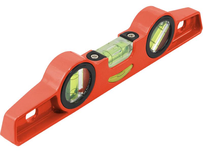 vodováha kovová s magnety, 250mm, přesnost 1mm/1m, 3 libely 0°, 45° a 90°, elektronicky t