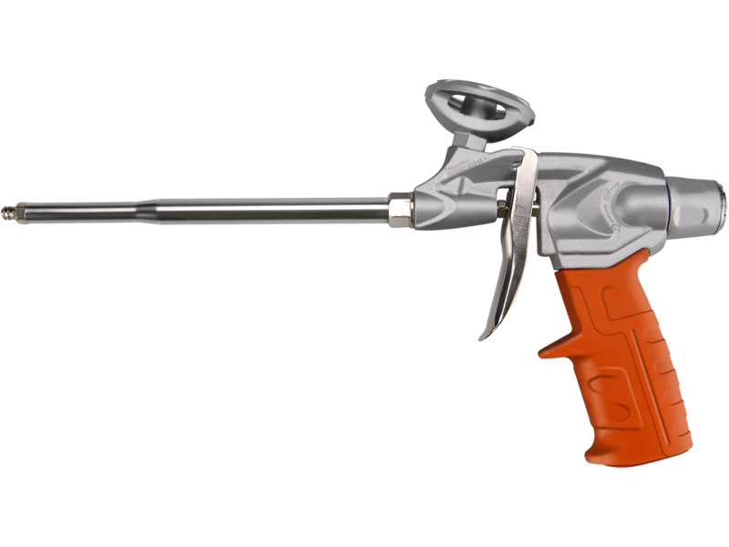 pistole na PU pěnu HEAVY DUTY, s regulací průtoku, robustní kovový rám, EXTOL PREMIUM
