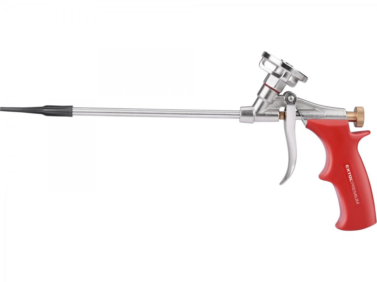 EXTOL PREMIUM pistole na PU pěnu s 8mm úzkou trubicí 8845207