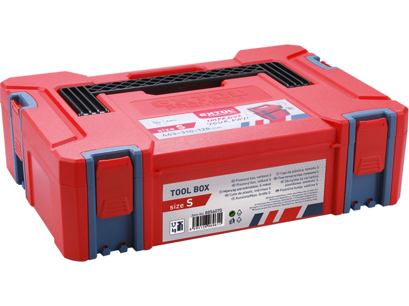 Box plastový, velikost S, 443 x 310 x 120 mm, Extol Premium
