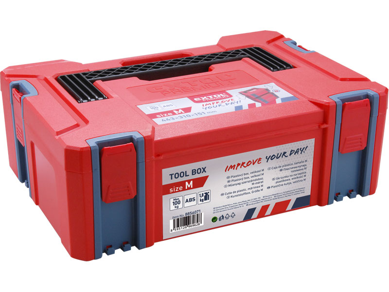 Box plastový, velikost M, 443 x 310 x 151 mm, Extol Premium