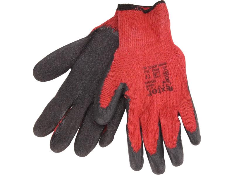 """rukavice bavlněné polomáčené v LATEXU, 8"""", velikost 8"""", EXTOL PREMIUM"""