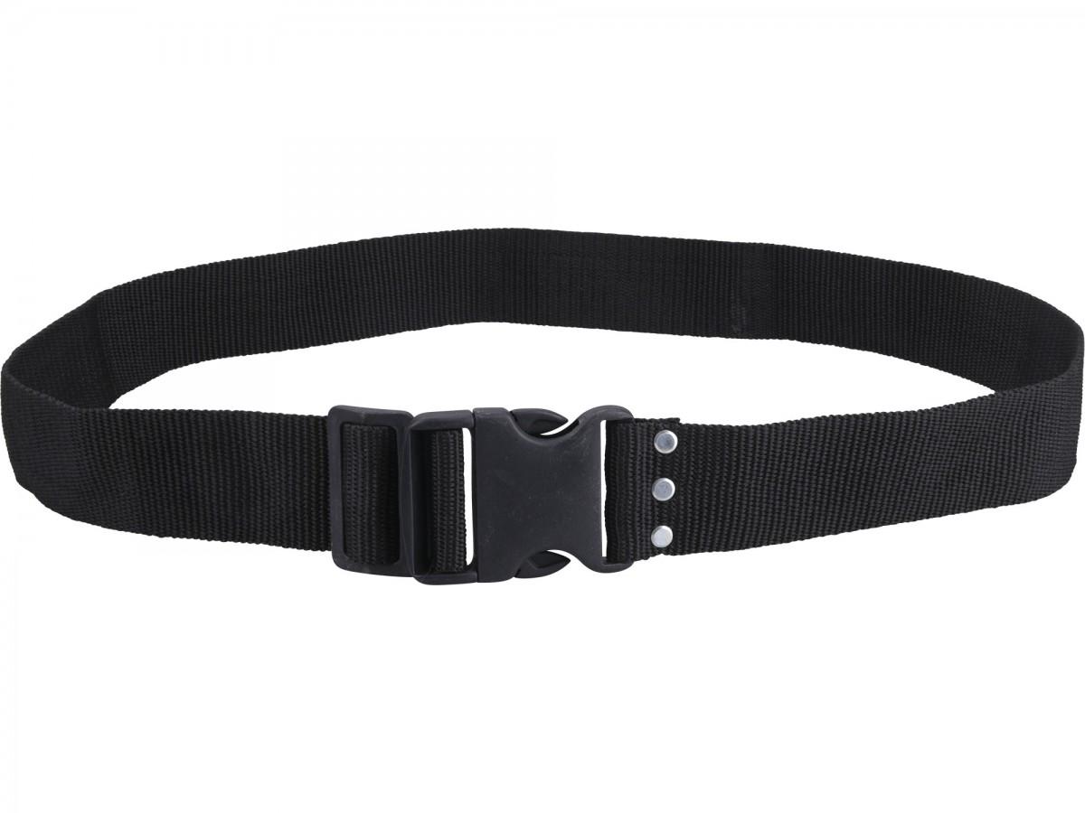 EXTOL PREMIUM opasek nylonový černý, š.5cm x d.122cm, plast. přezka, nylon 8858009 Nářadí 0.144Kg MA8858009