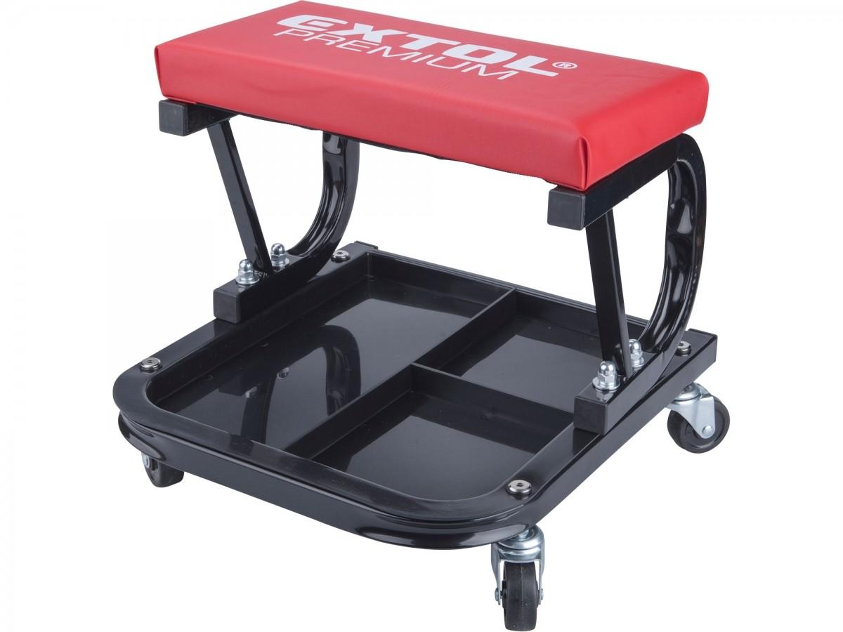 EXTOL PREMIUM sedák montážní pojízdný, nosnost do 120kg 8863300