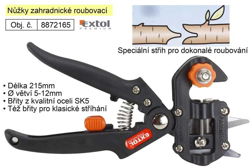 Nůžky zahradnické roubovací Extol Premium Nářadí | 0,4 Kg