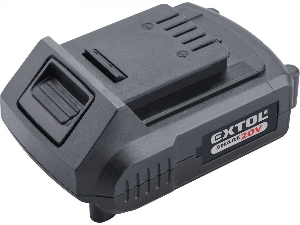 EXTOL PREMIUM baterie akumulátorová SHARE20V, Li-ion, 2000mAh 8891881