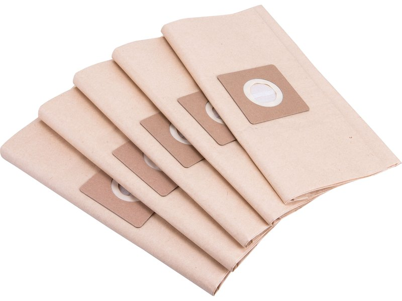 sáček filtrační, papírový, 5ks, EXTOL PREMIUM