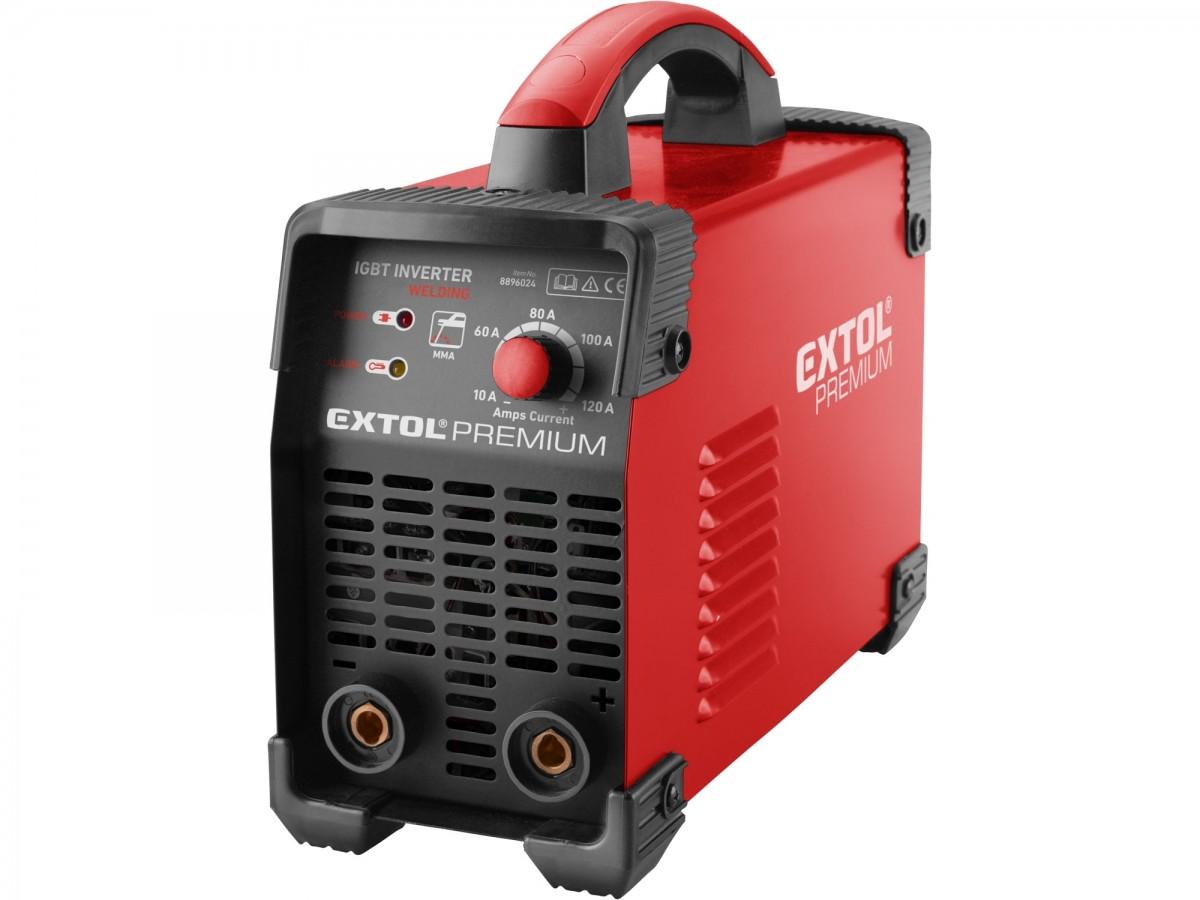 Invertor svařovací 120A MMA EXTOL PREMIUM 8896024