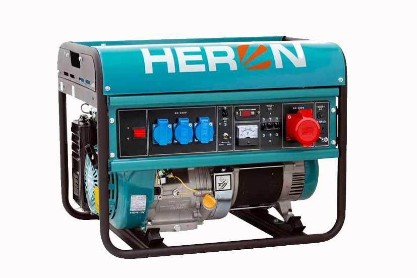 Elektrocentrála EGM 68 AVR-3 Heron 6,8kW jednofázová + třífázová