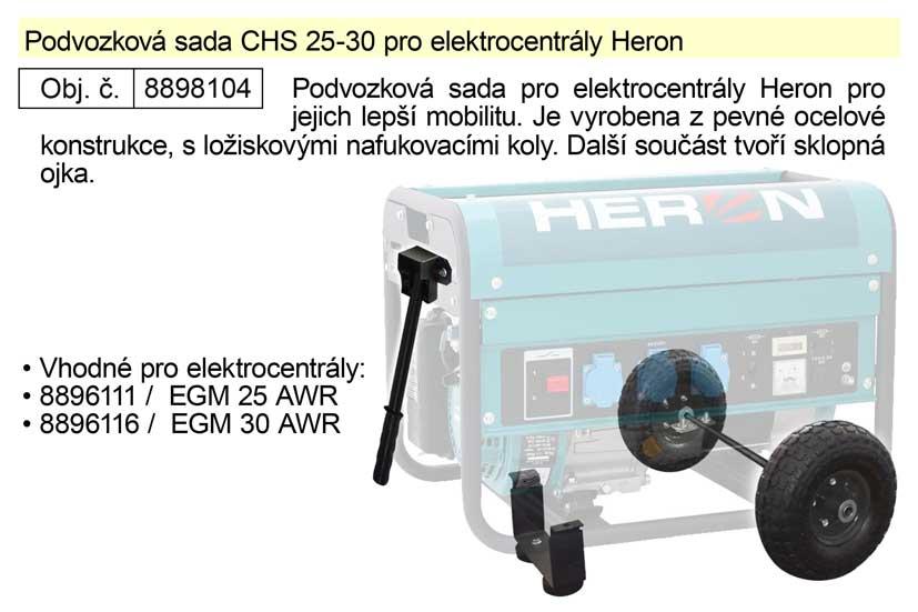 Podvozková sada CHS 25-30 pro elektrocentrály Heron