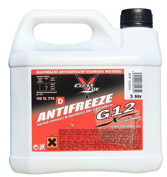 Antifreeze G12, 3L Nářadí 4.8Kg AT-90614